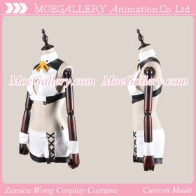 Aquarion Evol Zessica Wong Cosplay Costume