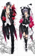 Black Butler Sebastian Michaelis Ciel Phantomhive Body Pillow Case