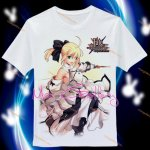 Fate Stay Night Saber T-Shirt 02