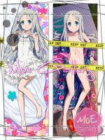 Anohana The Flower We Saw That Day Meiko Honma Body Pillow 01