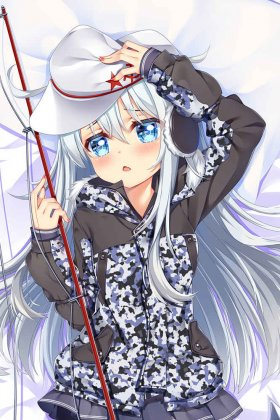Kantai Collection KanColle Dakimakura Hibiki Body Pillow Case 02