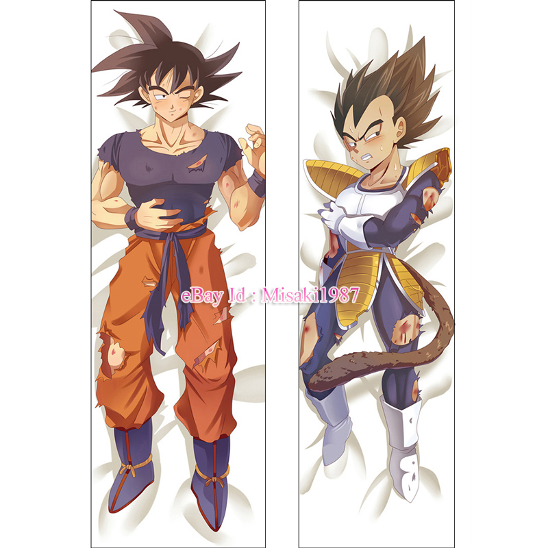 Dragon Ball Dakimakura Son Goku Kakarotto Vegeta Anime