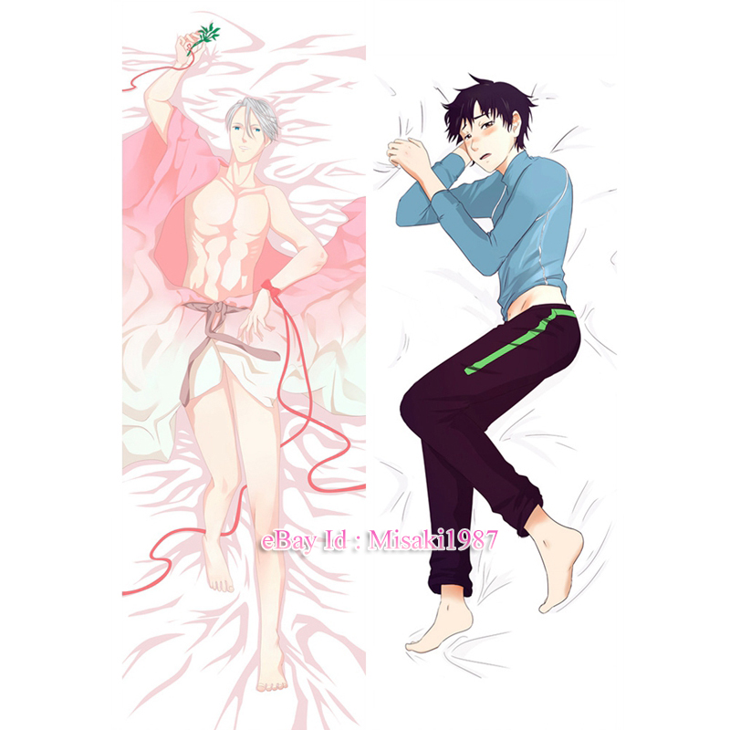 Anime YURI!! on ICE Victor Nikiforov Dakimakura Hugging Body Pillow Cover Case