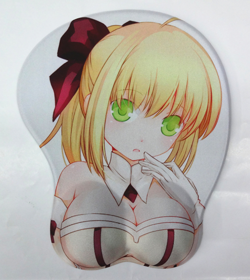 Fate Stay Night Saber Lily 3D Mouse Pads