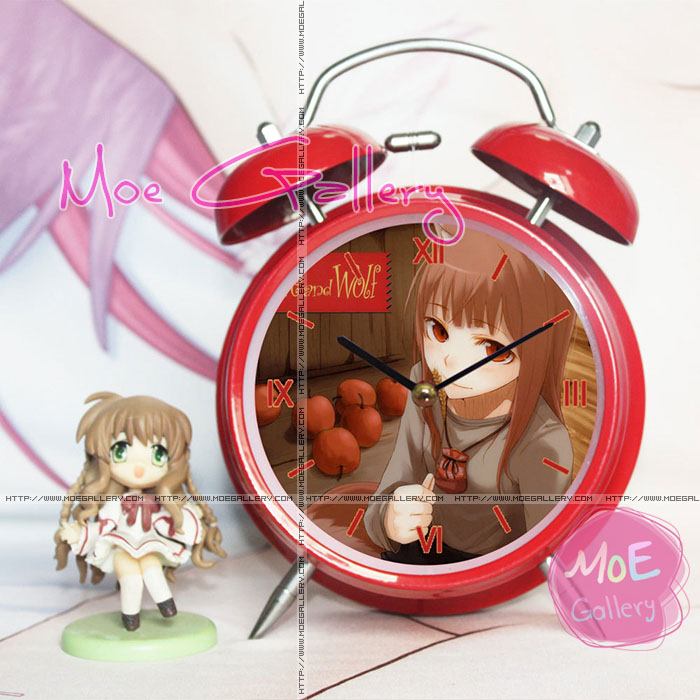 Spice And Wolf Holo Alarm Clock 01