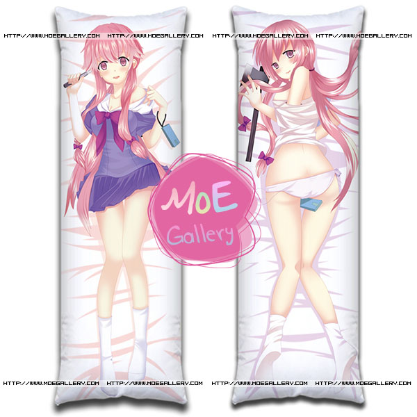 Future Diary Yuno Gasai Body Pillow B