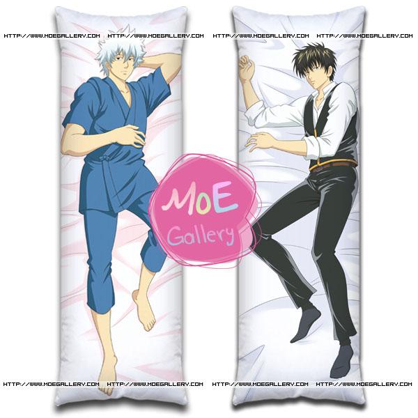 gintama Gintoki Sakata & Sagaru Yamazaki Body Pillows