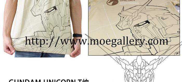 Gundam Unicorn Tee T-Shirt