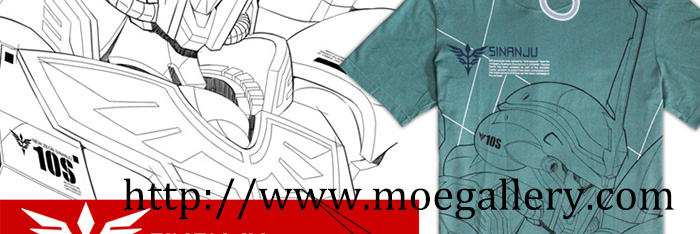 Gundam Unicorn Tee T-Shirt