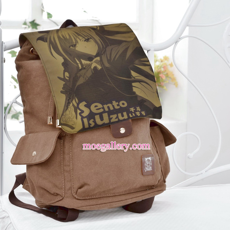 Amagi Brilliant Park Isuzu Sento Anime Backpack Shoulder Bag