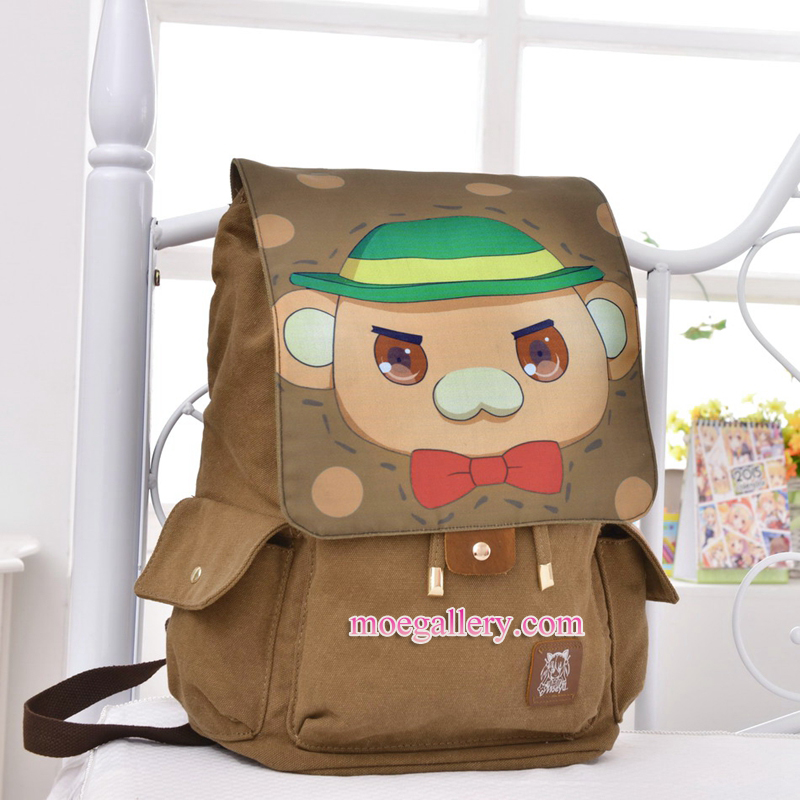 Amagi Brilliant Park Moffle Anime Backpack Shoulder Bag