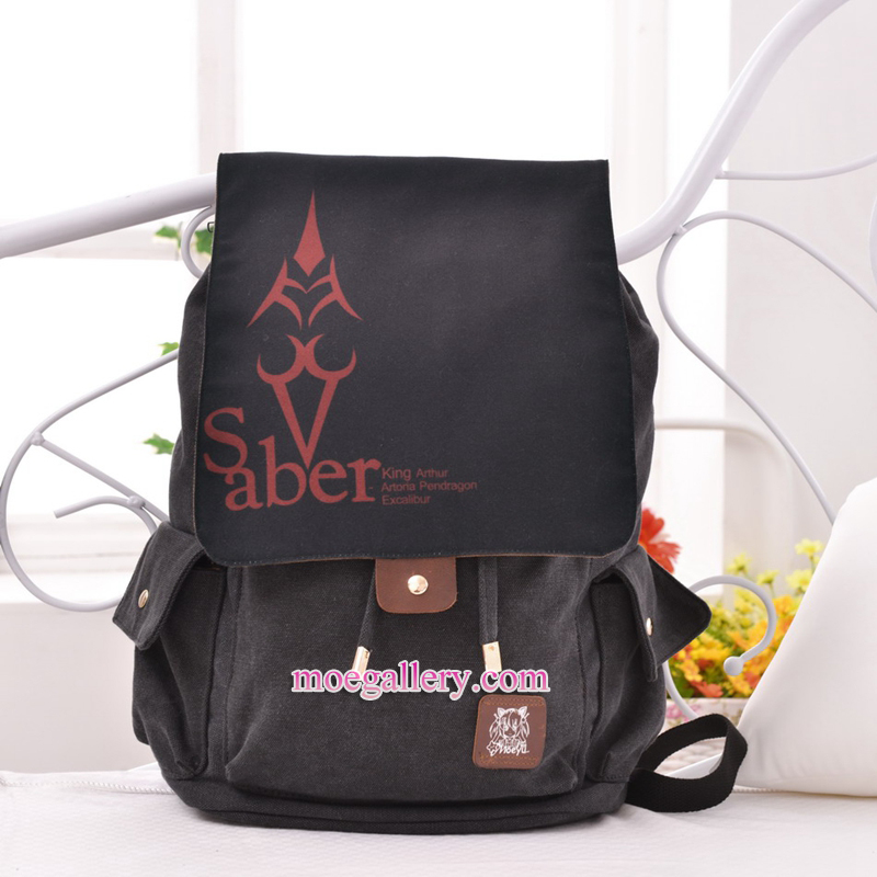 Fate Zero Fate Stay Night Saber Anime Backpack Shoulder Bag