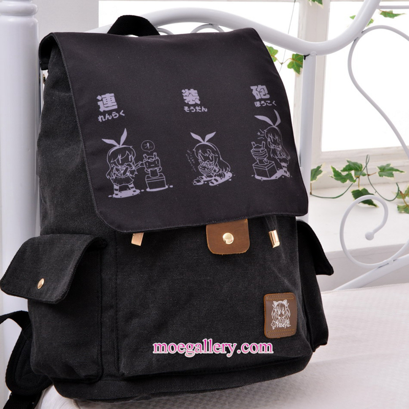Kantai Collection Shimakaze Anime Backpack Shoulder Bag