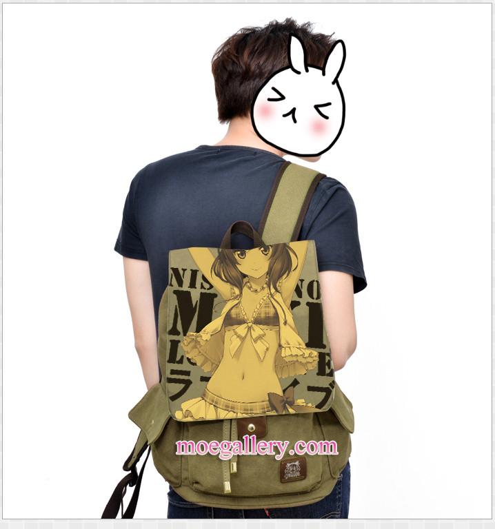 Love Live Maki Nishikino Anime Backpack Shoulder Bag