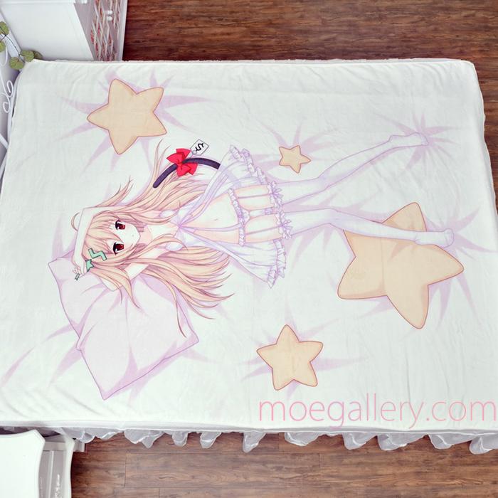 Anime Girl Lolita Pink Bedsheet