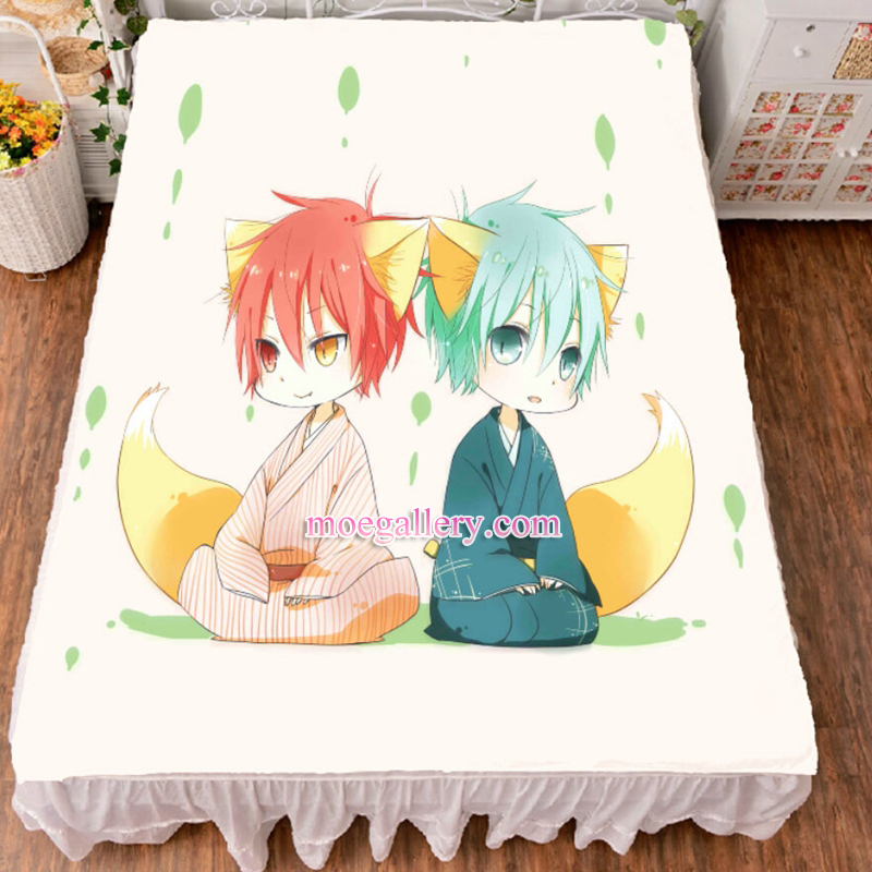 Kurokos Basketball Tetsuya Kuroko Seijuro Akashi Anime Bed Sheet Summer Quilt Blanket Custom