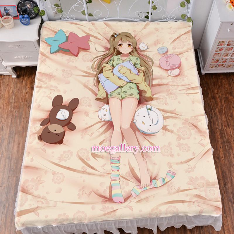 Love Live Minami Kotori Anime Girl Bed Sheet