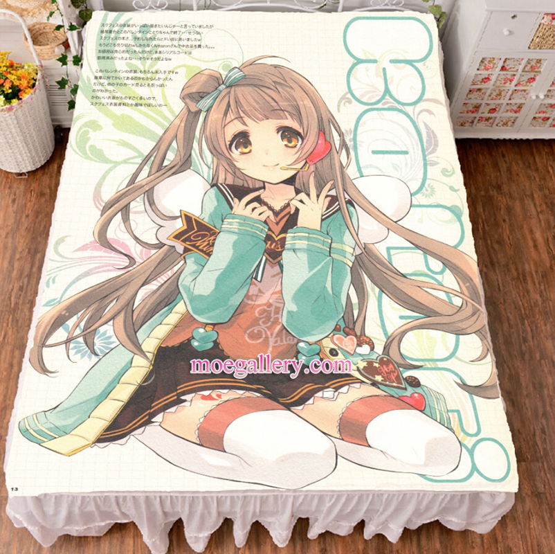 Love Live Minami Kotori Anime Girl Bed Sheet Summer Quilt Blanket Custom