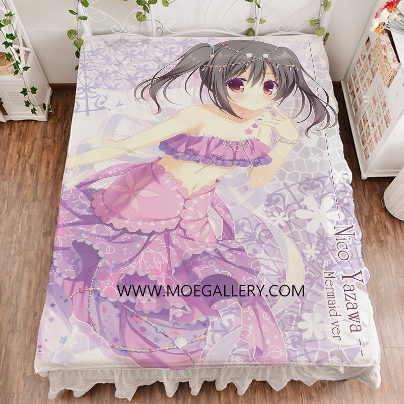 Love Live Yazawa Nico Anime Girl Bed Sheet