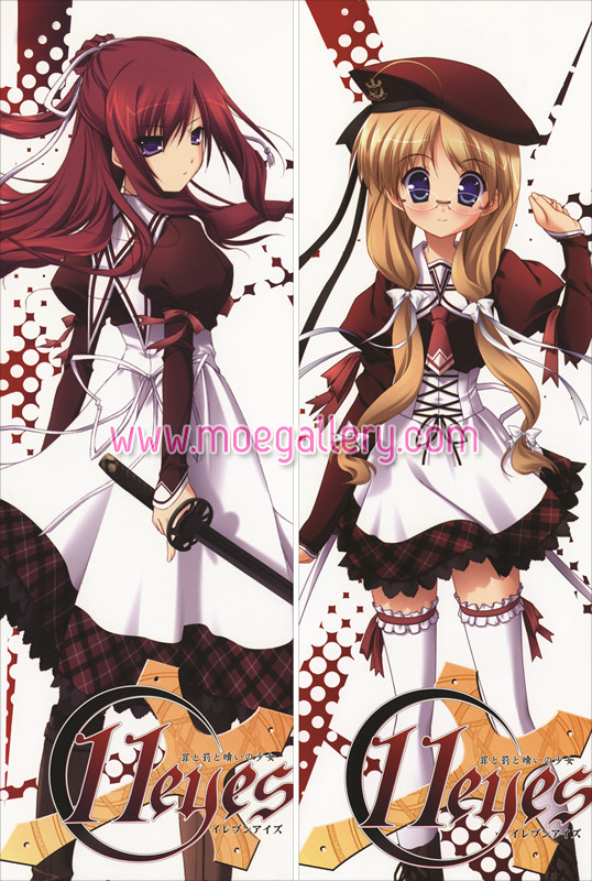 11Eyes Misuzu Kusakabe Body Pillow Case 01