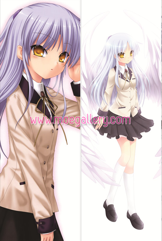 Angel Beats Kanade Tachibana Body Pillow Case 01