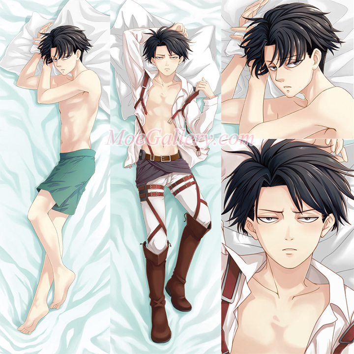Attack On Titan Levi Body Pillow Case 01