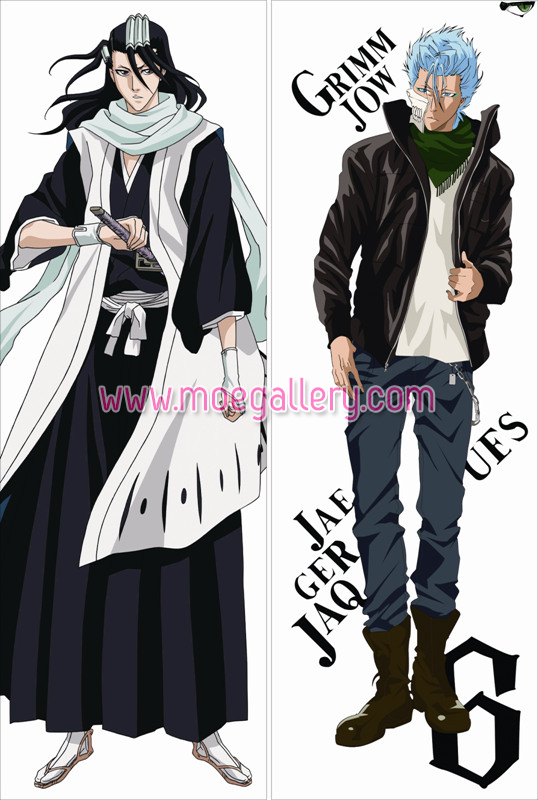 Bleach Byakuya Kuchiki Body Pillow Case 02
