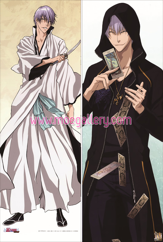 Bleach Gin Ichimaru Body Pillow Case 01