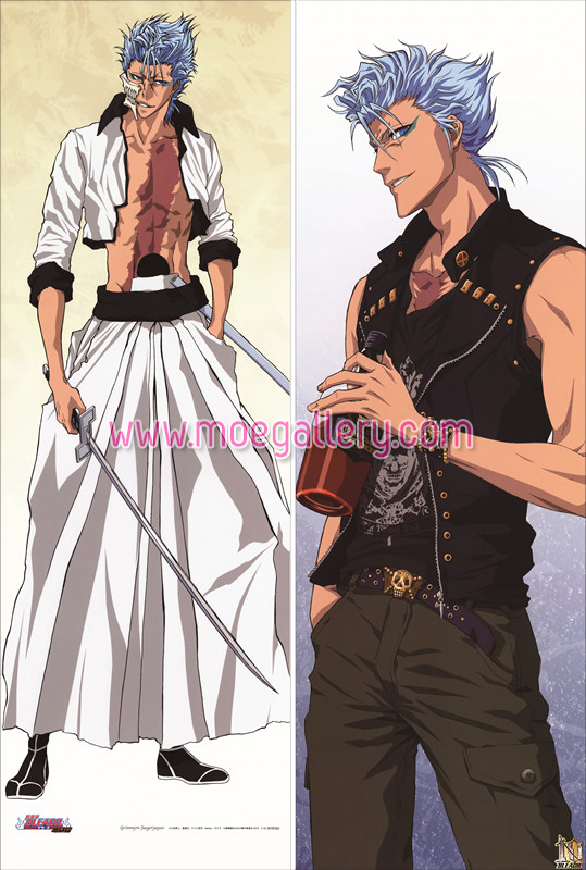 Bleach Grimmjow Jaegerjaquez Body Pillow Case 01