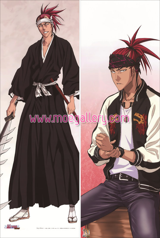 Bleach Renji Abarai Body Pillow Case 01