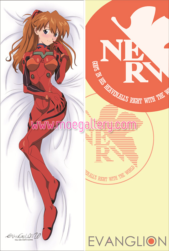 EVA Asuka Langley Soryu Body Pillow Case 08