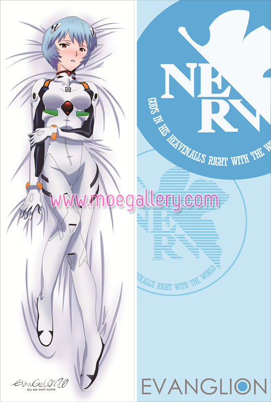 EVA Rei Ayanami Body Pillow Case 21