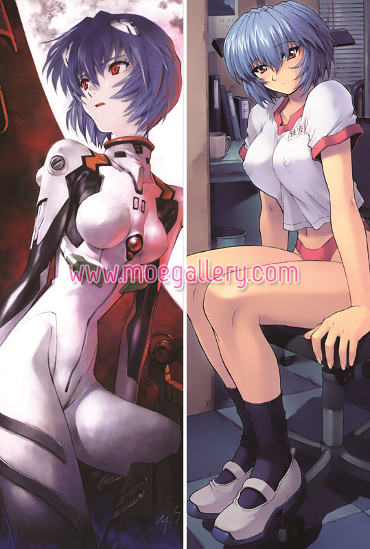 EVA Rei Ayanami Body Pillow Case 04