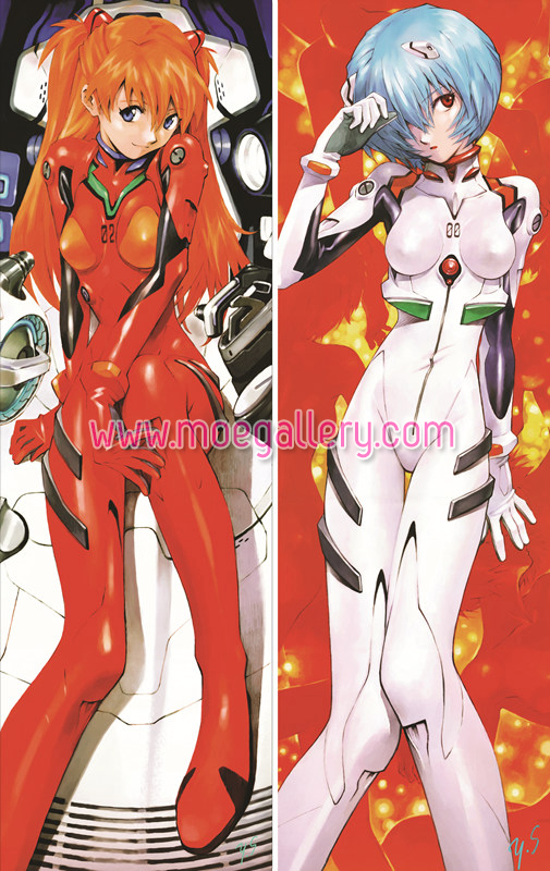 EVA Rei Ayanami Body Pillow Case 05