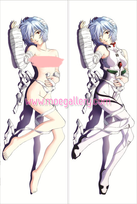 EVA Rei Ayanami Body Pillow Case 07