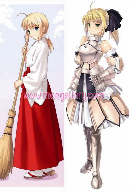 Fate Stay Night Saber Body Pillow Case 35
