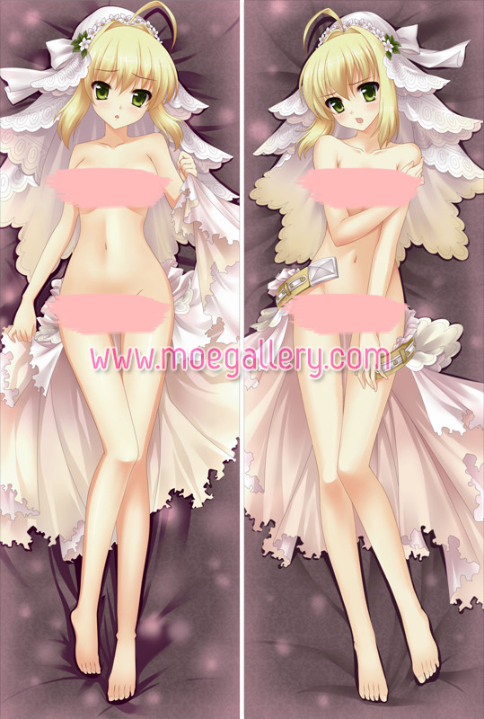 Fate Stay Night Saber Body Pillow Case 37