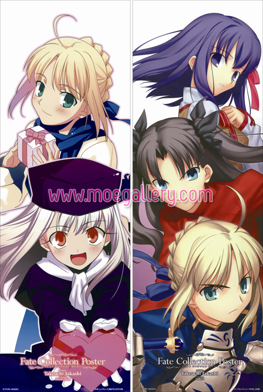 Fate Stay Night Saber Body Pillow Case 40