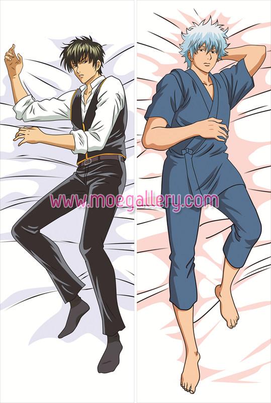 Gin Tama Gintoki Sakata Body Pillow Case 01