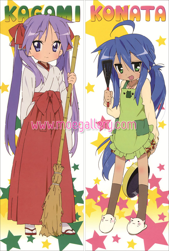 Lucky Star Kagami Hiiragi Body Pillow Case 05