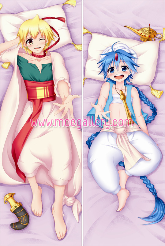 Magi Aladdin Body Pillow Case 01