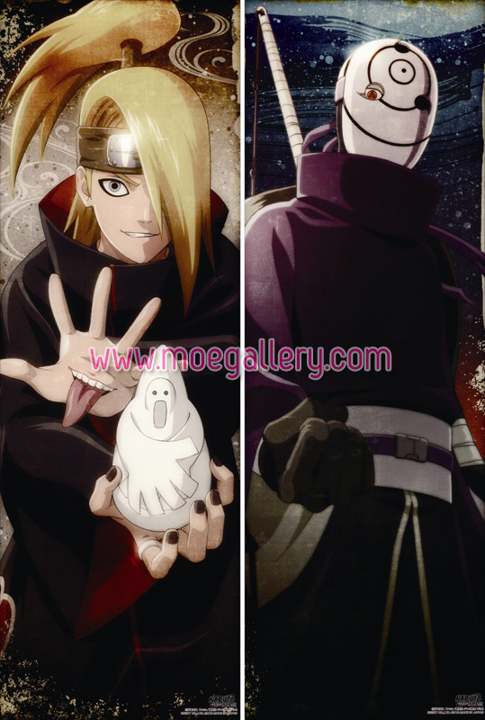 Naruto Deidara Body Pillow Case 01