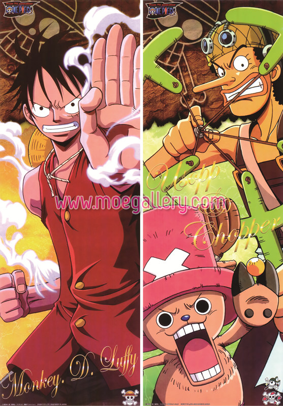 One Piece Monkey D Luffy Body Pillow Case 01