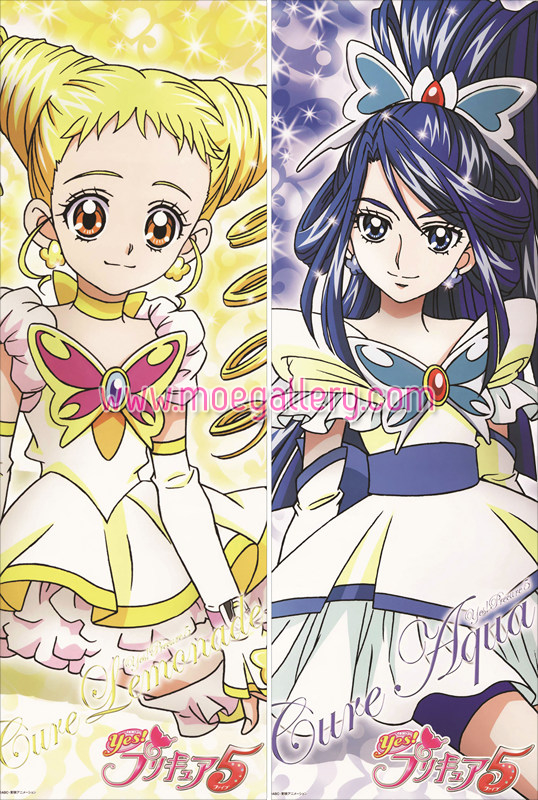 Pretty Cure Anime Girls Body Pillow Case 16