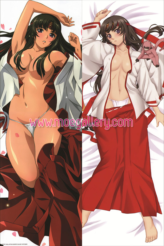 Queens Blade Tomoe Body Pillow Case 01