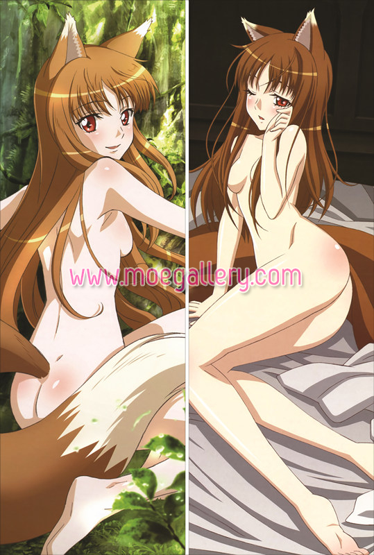 Spice And Wolf Holo Body Pillow Case 05