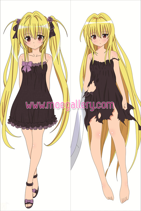 To Love Ru Golden Darkness Body Pillow Case 04