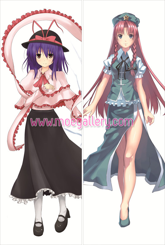 Touhou Project Hong Meiling Body Pillow Case 08