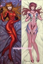 EVA Dakimakura Asuka Langley Soryu Body Pillow Case