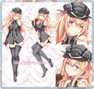 Kantai Collection Dakimakura Bismarck Body Pillow Case 02